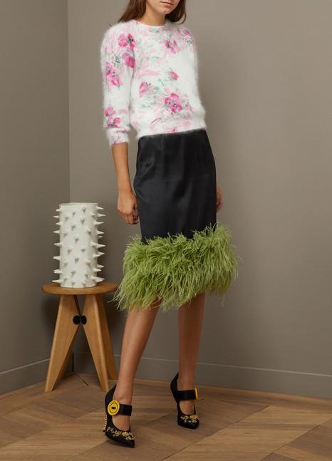 PradaPull à fleurs en angora