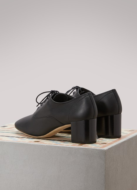 Repetto Fado brogues with heels Low Cost Online Cost Sale Online Real Sale Online uyDe8I