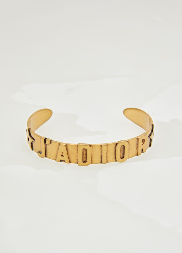 Dior J Adior Bracelet In Gold Plated Metal