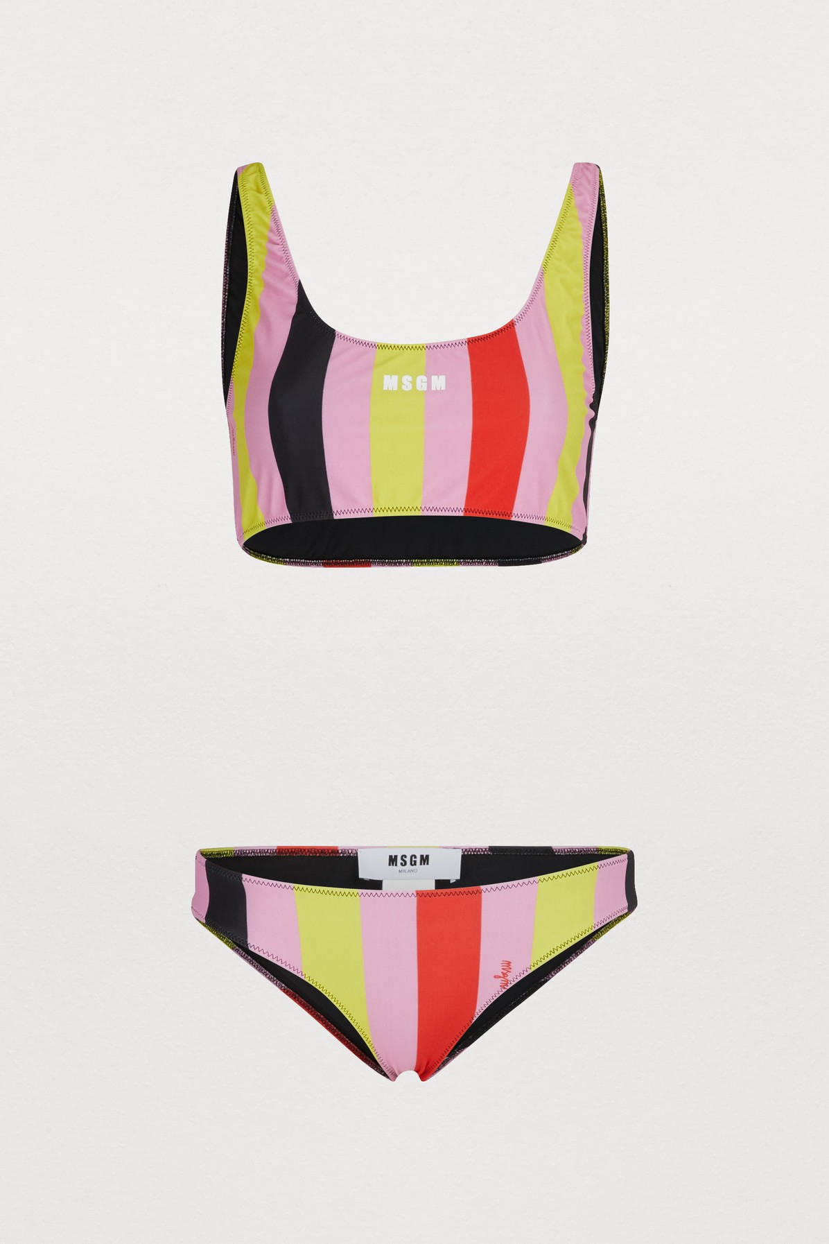 Bikini rayé