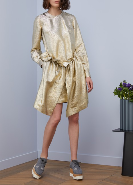 STELLA MC CARTNEYFarrah metallic dress