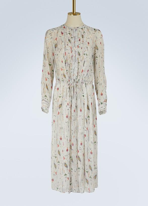 Isabel Marant EtoileSilk Baphir dress