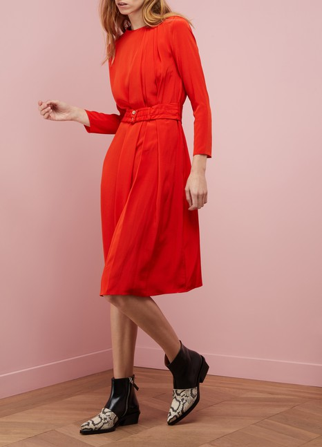 Vanessa BrunoSilk Hermance dress