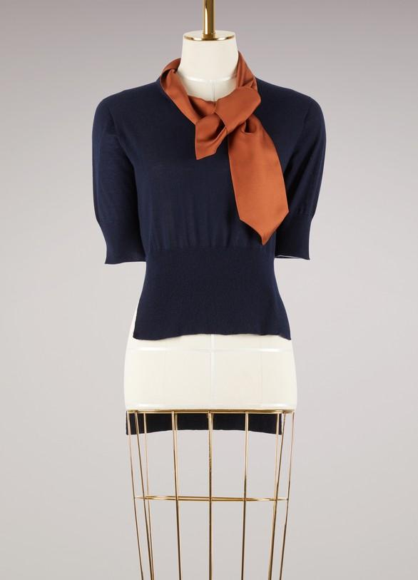MarniShort sleeved sweater