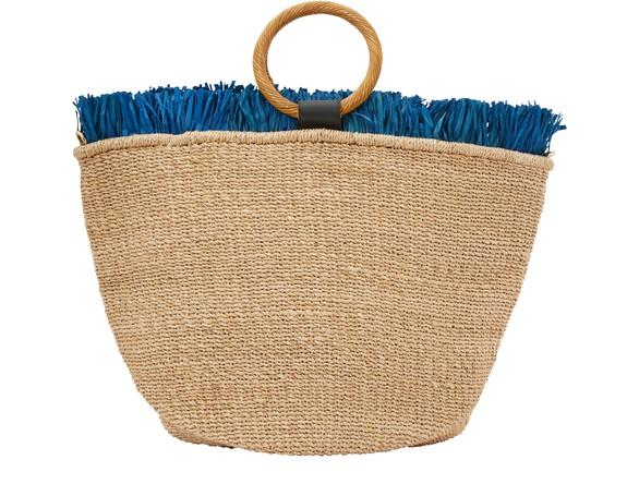 ARANAZCarisse tote bag with fringes