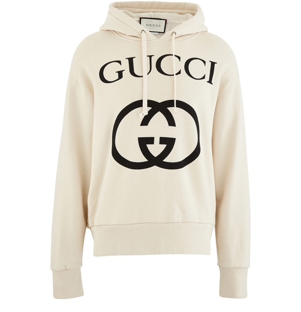 GUCCI Hooded sweatshirt with logo