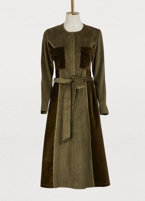 Jour/NéCorduroy army dress