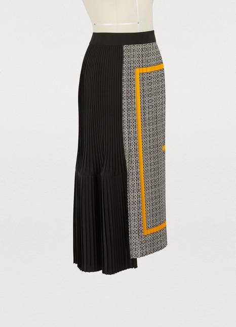 GivenchyCrêpe de chine midi skirt