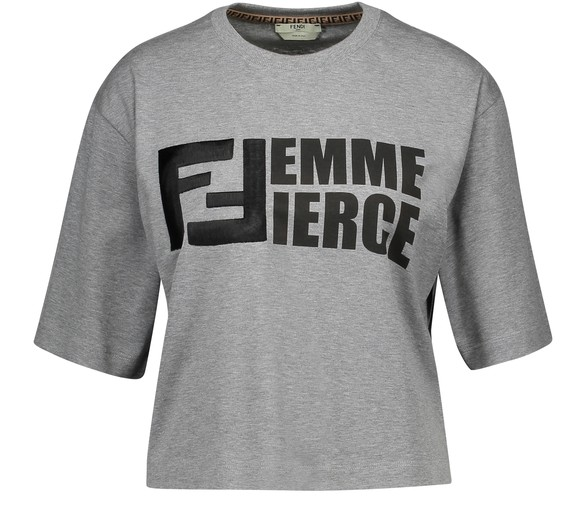 FENDICrop-top T-Shirt
