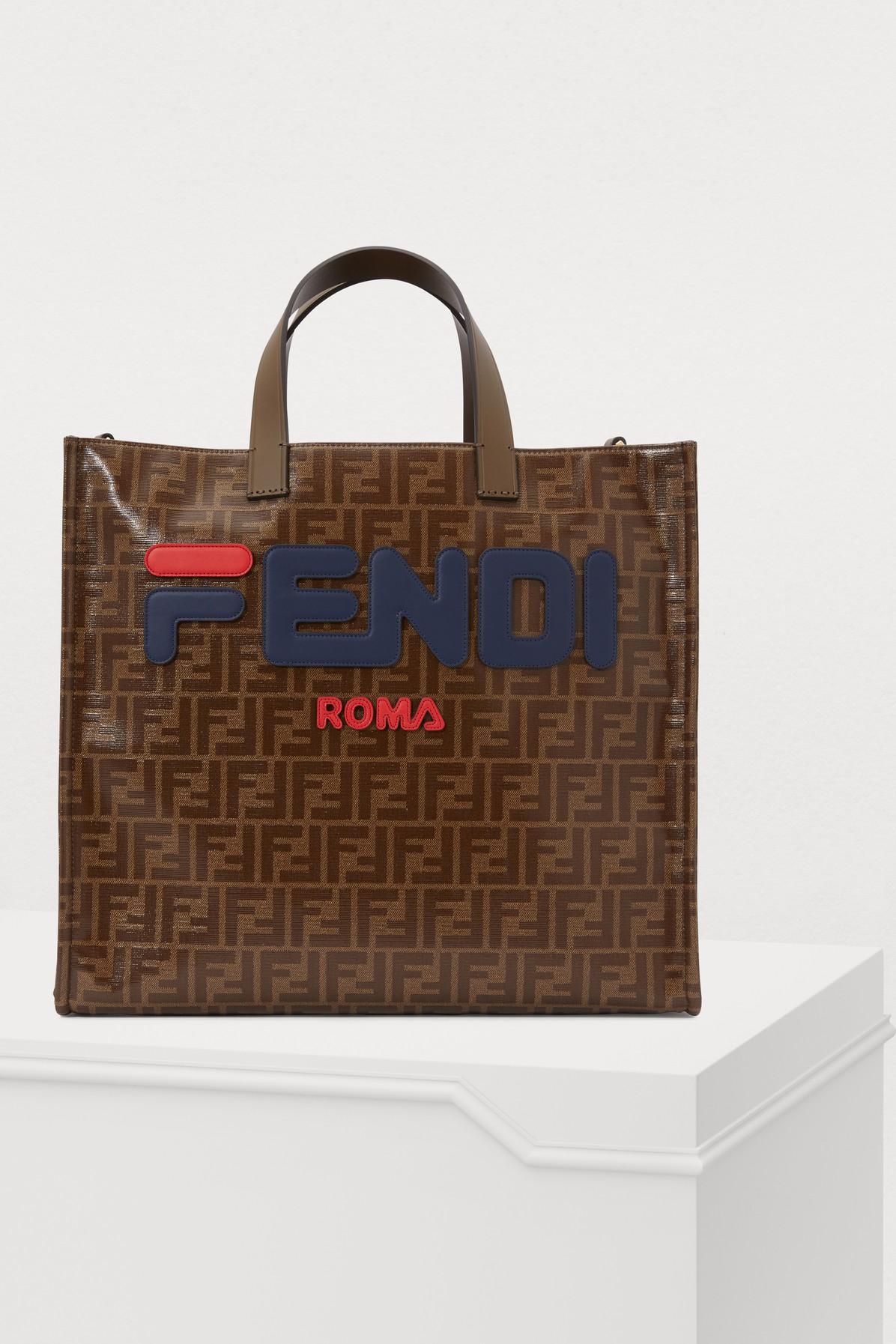 FENDI | Fendi X Fila Tote Bag | Goxip