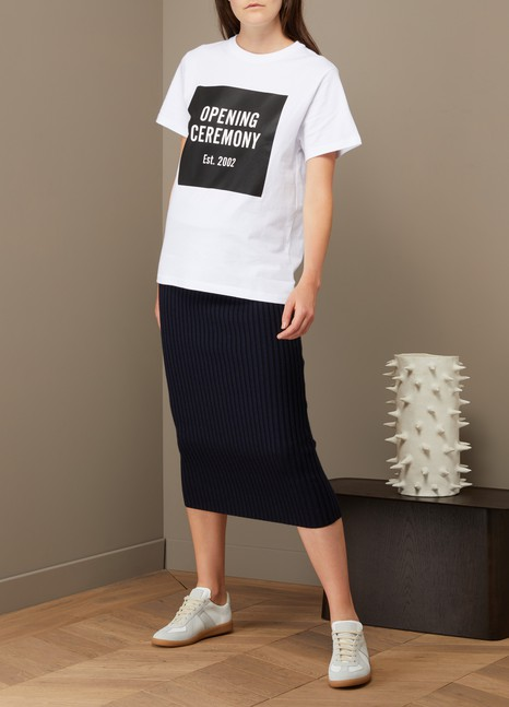 Opening Ceremony T-shirt logo en coton