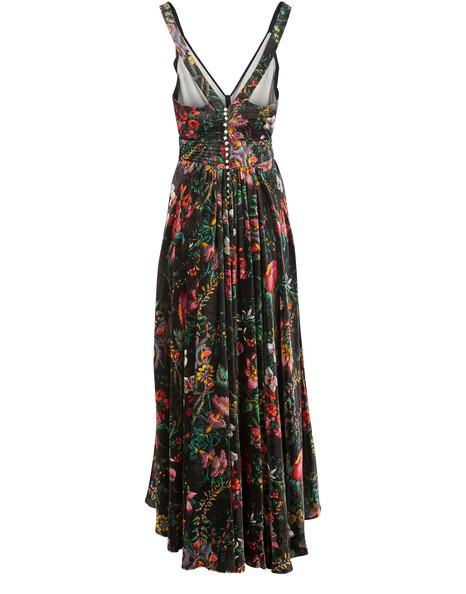 PACO RABANNELong printed dress