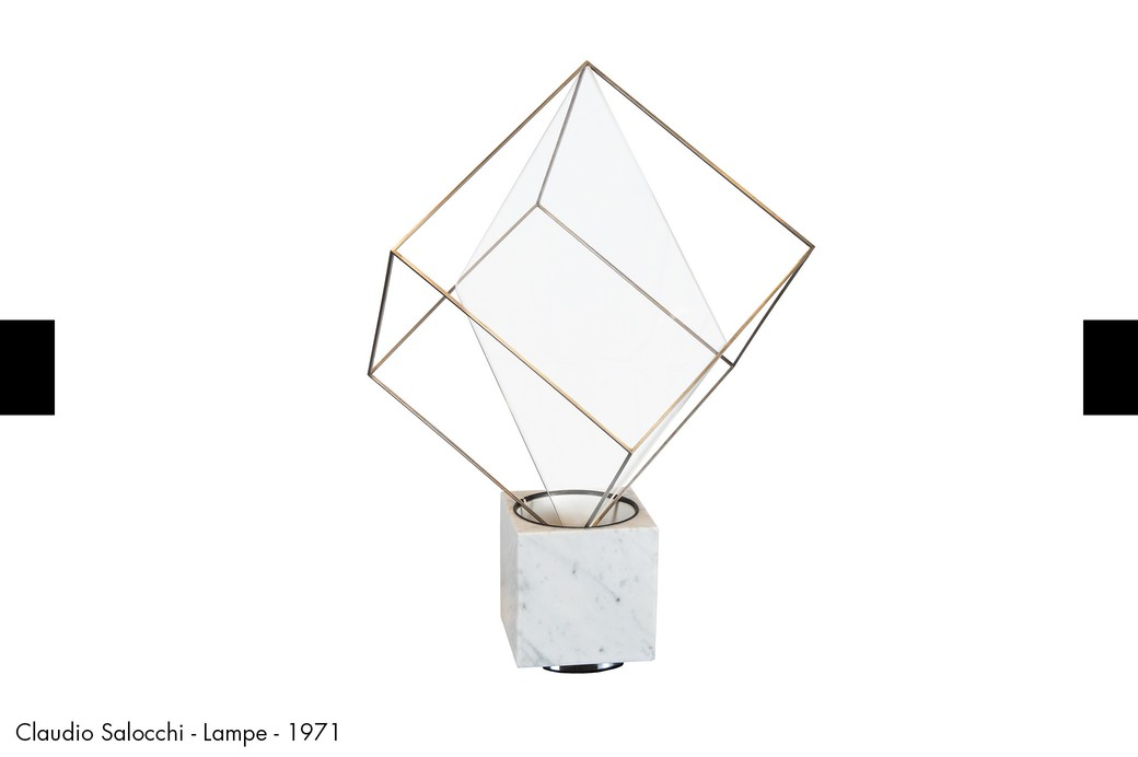 Claudio Salocchi - Lampe - 1971