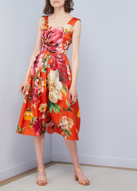 Dolce & GabbanaRobe longue Flowers