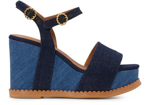 SEE BY CHLOECarrie wedge sandals