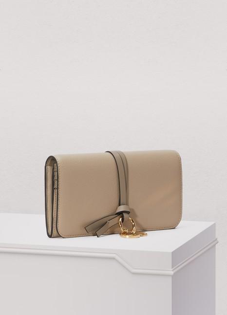 ChloéAlphabet wallet