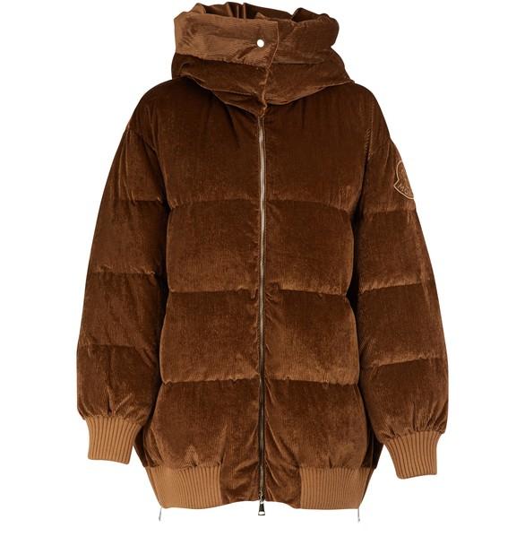 MONCLERVerdier velvet jacket