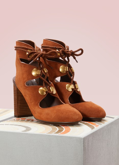 See by Chloé High-heeled laced sandals