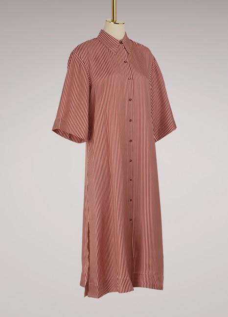 DIANE VON FURSTENBERGRobe chemise en soie