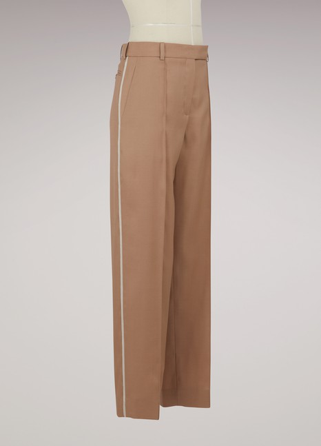 Nina Ricci Wool and silk pants