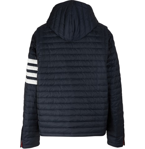 THOM BROWNEQuilted 4-Bar jacket
