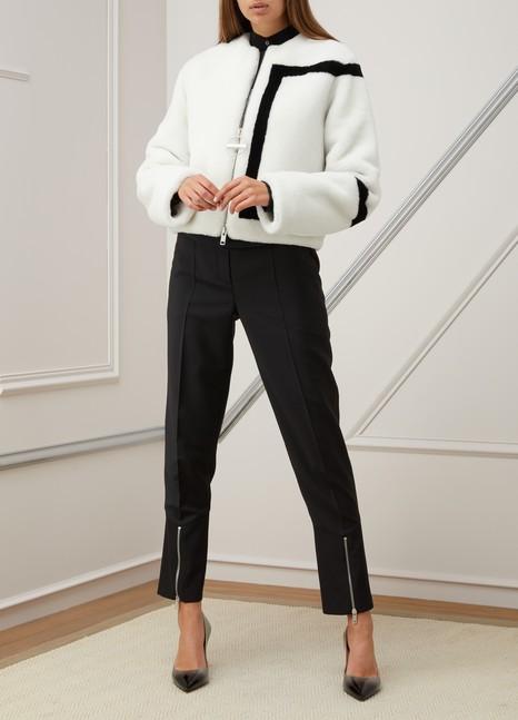 GivenchyShearling short jacket
