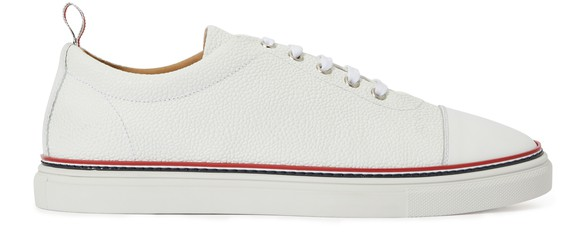 THOM BROWNE Turnschuh Straight Toe Cap