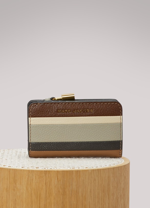 Marc Jacobs Portefeuille The Grind Colorblock