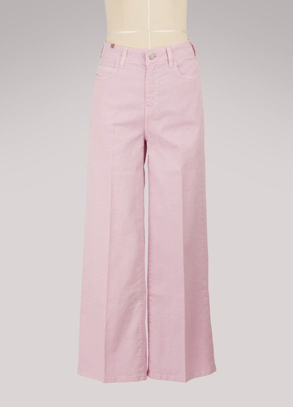 Cheap Sale Big Discount Silene wide-leg cropped jeans Atelier Notify Cheap Sale From China EJcUnDWCq
