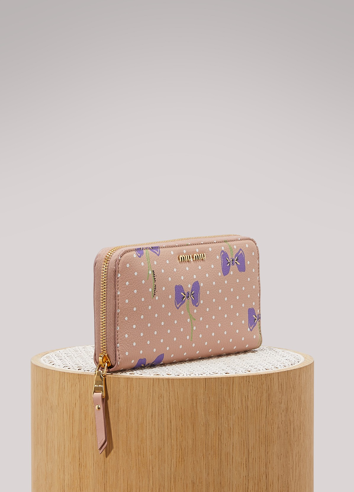 Miu Miu Wallet Bow