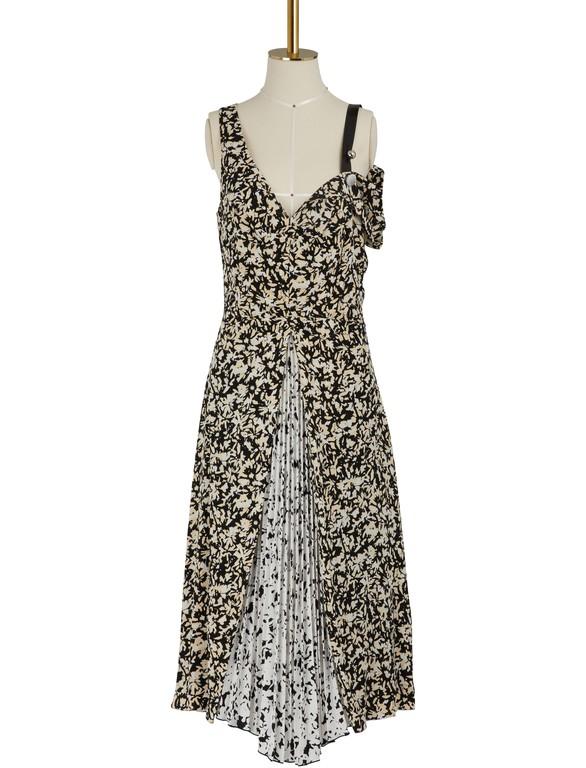PROENZA SCHOULERSilk open shoulder dress