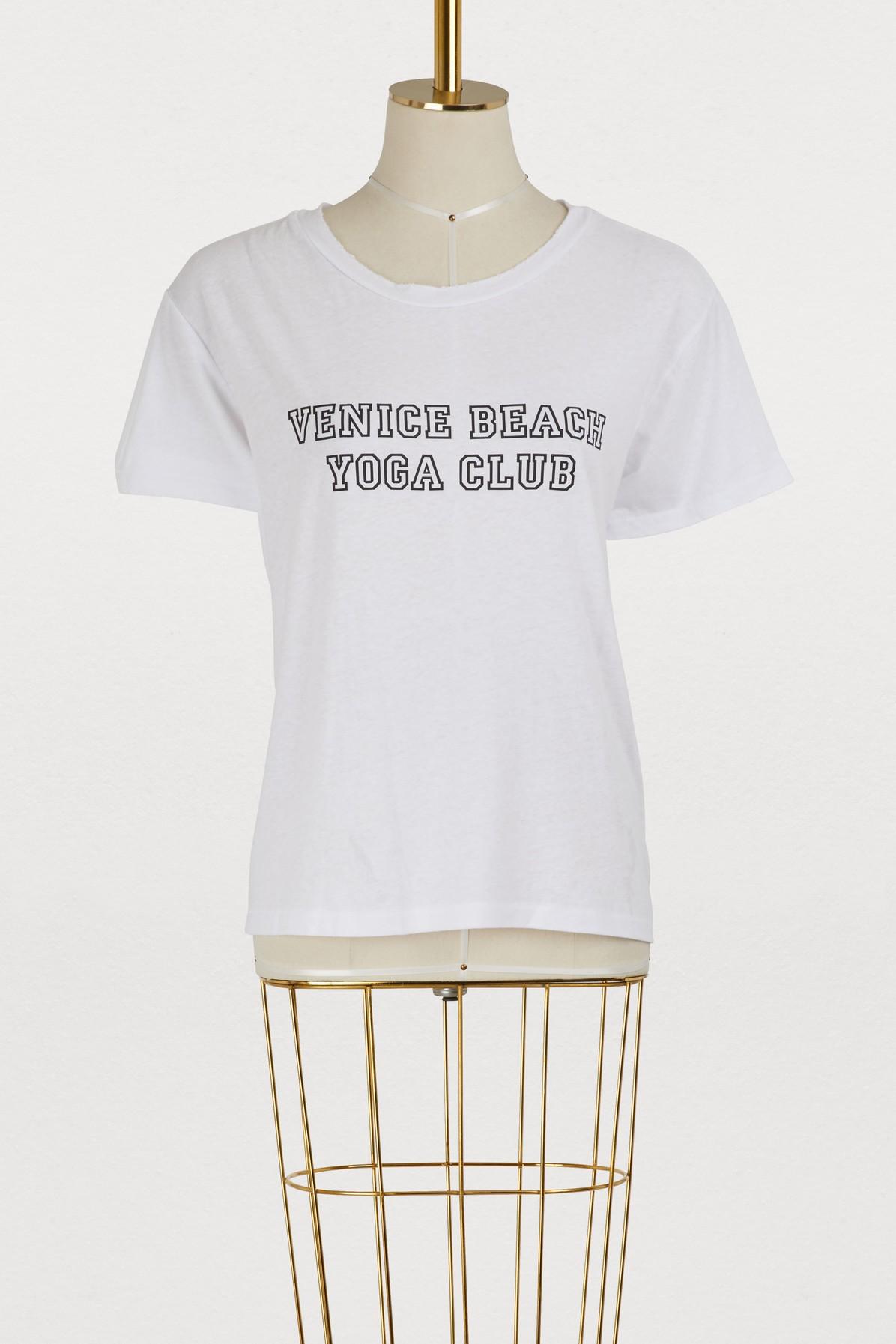 T-shirt Venice beach yoga club