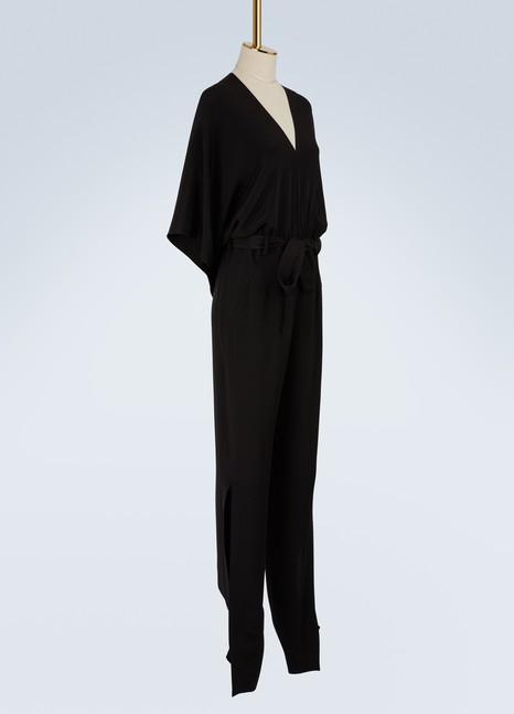 Roland MouretMillbridge silk crêpe jumpsuit