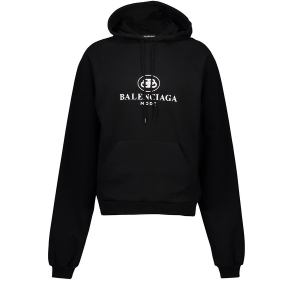 BALENCIAGA BB Mode hooded sweatshirt