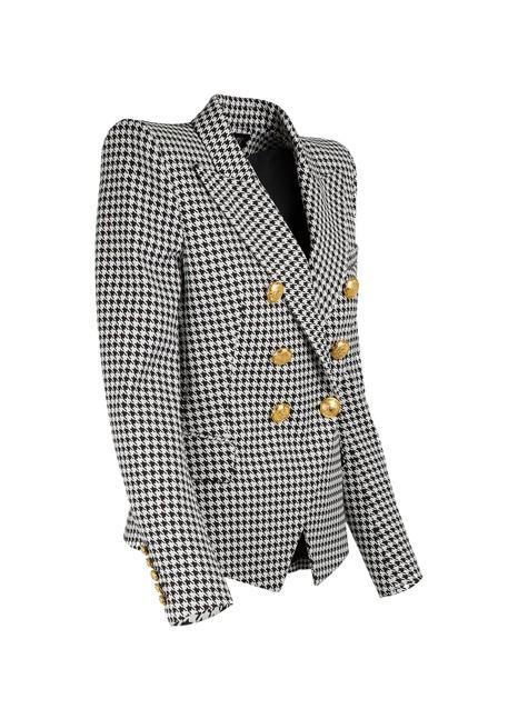 BALMAINHoundstooth jacket