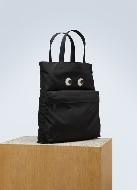 Sac shopping Eyes en nylon