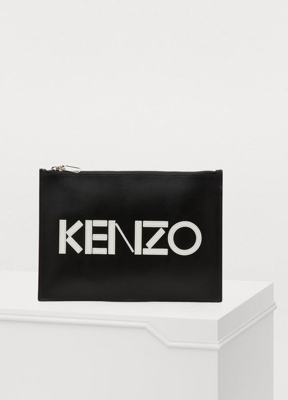 KenzoLeather Kenzo pouch