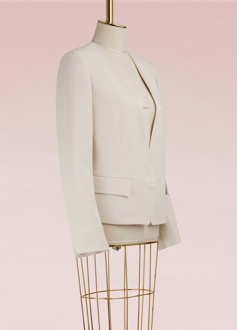 STELLA MC CARTNEY Blazer en cady stretch Valentina