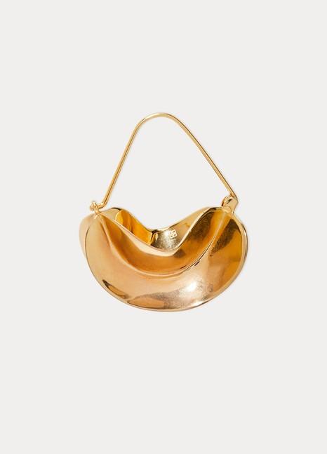 Anissa KermichePaniers Dorés earrings