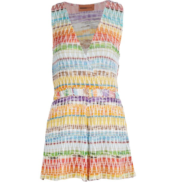 MISSONI Cotton blend mini dress