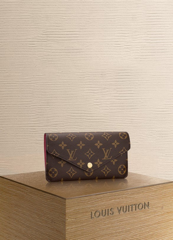 LOUIS VUITTON Portefeuille Jeanne