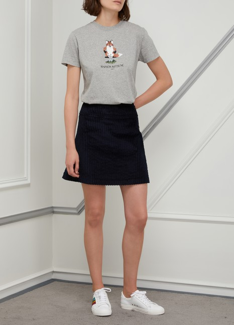 Maison Kitsuné Pixel fox cotton T-shirt