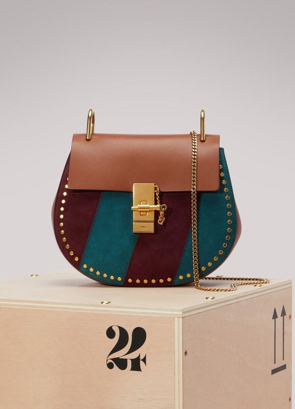 ChloéDrew Stripes Shoulder Bag