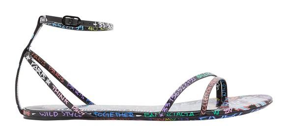 BALENCIAGAGraffiti sandals