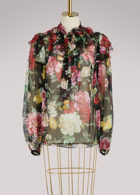 Dolce & GabbanaTied shirt