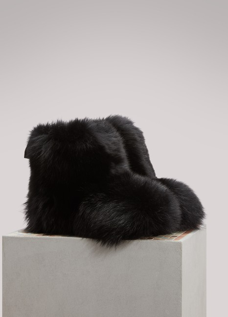Jimmy Choo Dalton fur ankle boots