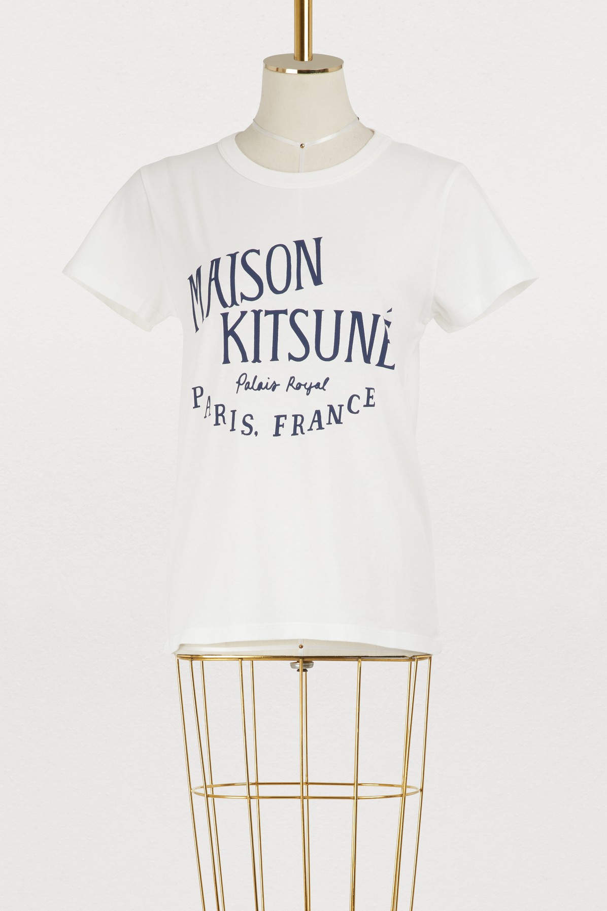 MAISON KITSUNE | Palais Royal cotton T-shirt | Goxip