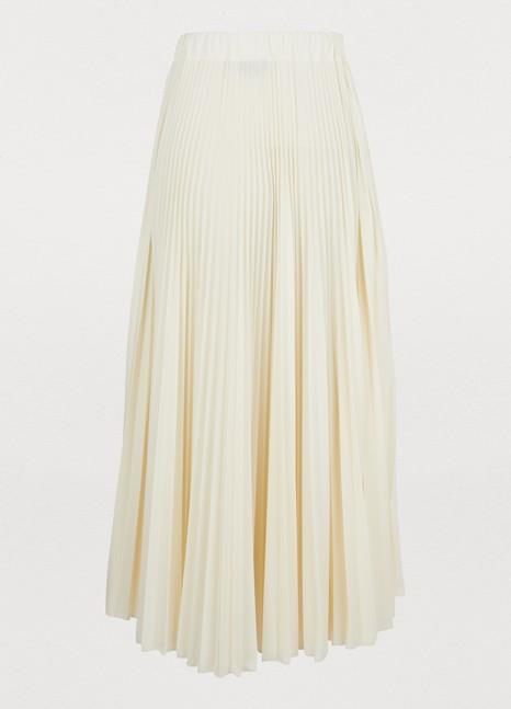 VALENTINOPleated midi skirt