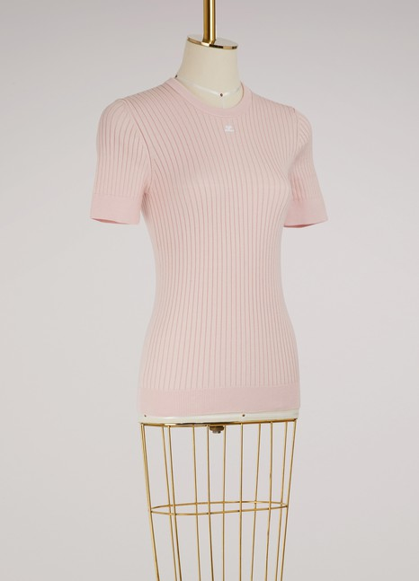 Courrèges Short sleeves knit top