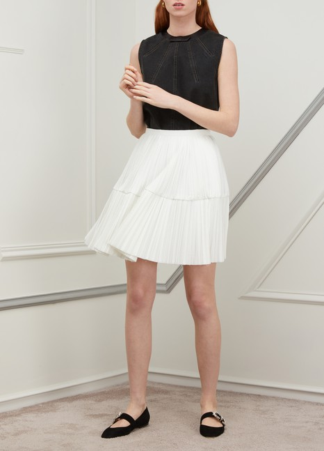 Jil Sander Pleated short skirt